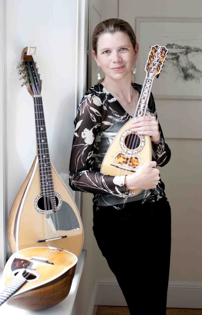 Alison Stephens with instruments