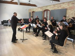 Moonlight Mandolin Orchestra at Stapleford Granary